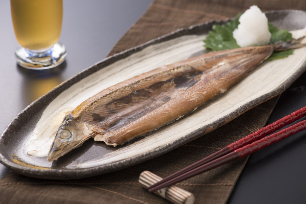 丸ごと骨まで食べられる焼き魚
