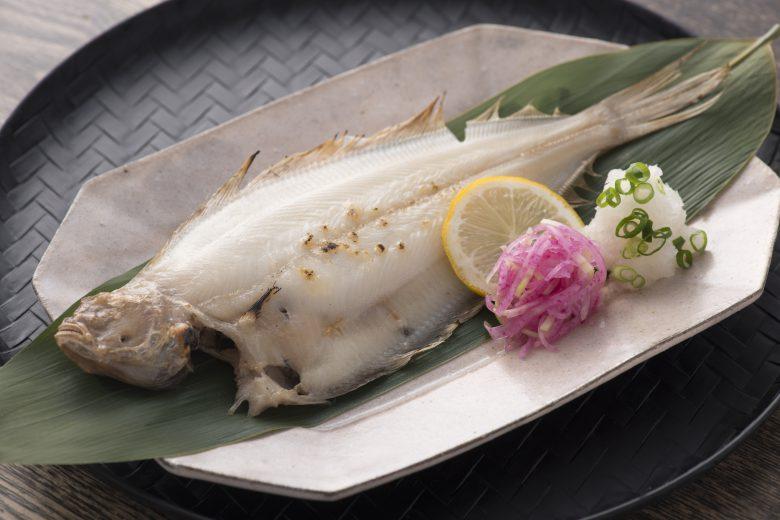 かれい焼き魚