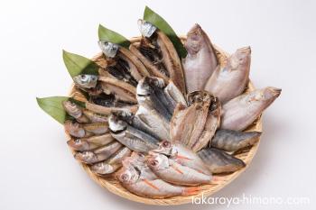 うす塩干物6種18枚セット