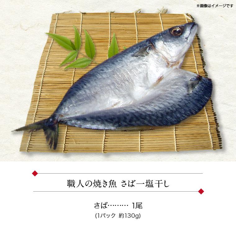 職人の焼き魚 さば(セット内容)