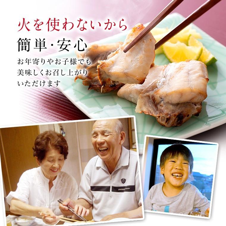 国産ふぐと焼き魚6種8切(火を使わないから)