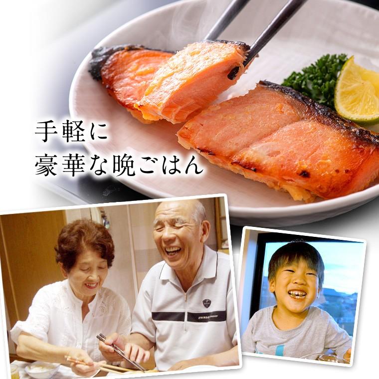 鮭と松前漬け4種(手軽に豪華)