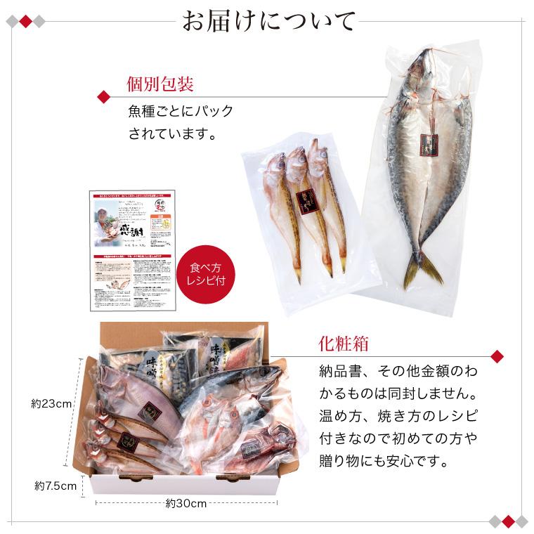 お魚晩ごはん5種7品+味噌漬け2種-お届けについて