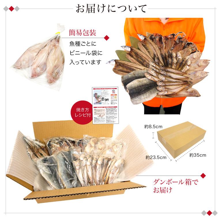 【定期購入】おまかせ1.2kg訳あり干物セット(お届けについて)