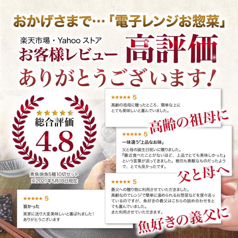 電子レンジお惣菜-レビュー