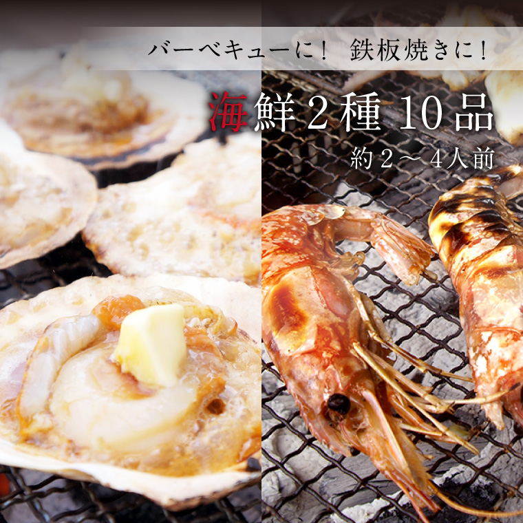 海鮮2種10品-イメージ