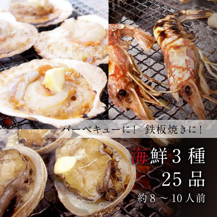 海鮮3種25品-イメージ