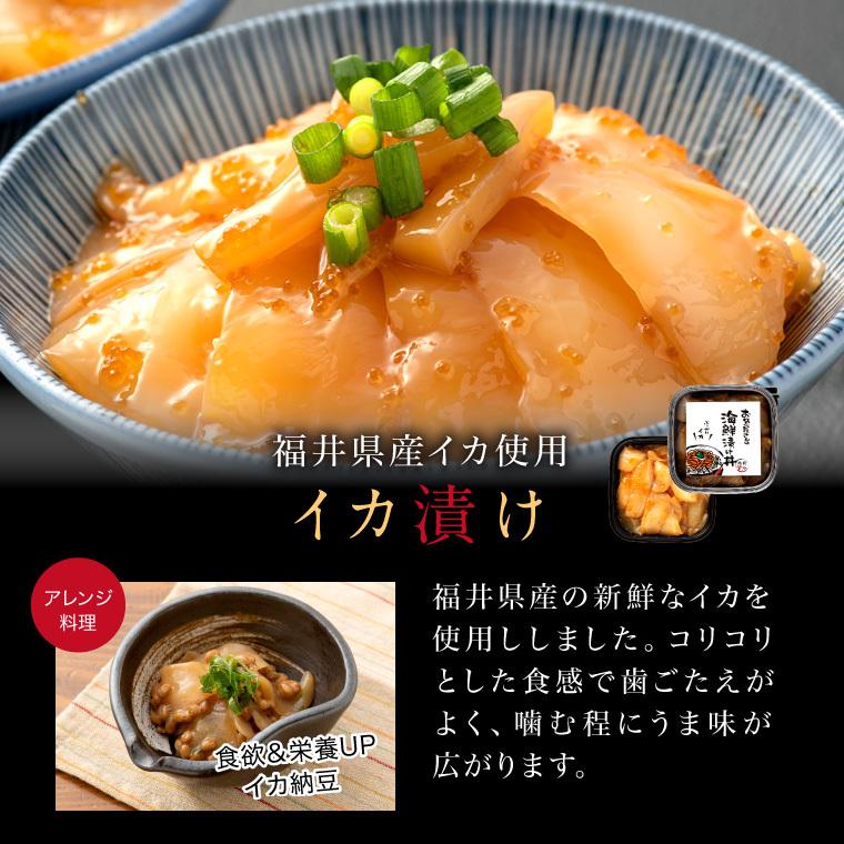 海鮮漬丼-いか